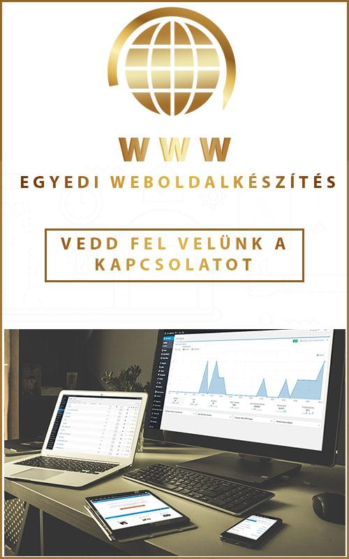 Egyedi Weboldal Készítés - Tervezés – ajánlatkészítés és specifikáció készítés